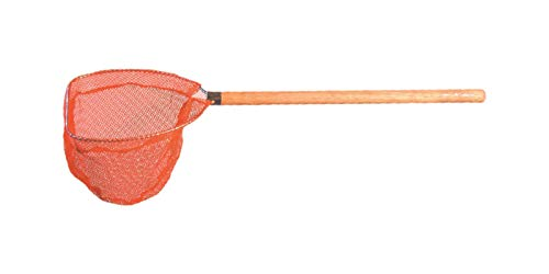 Frabill Baitwell Net with Fixed Wood Handle, 7 x 18-Inch