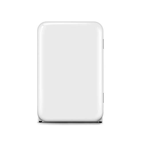 YCX Refrigerador doméstico pequeño (congelador de 15 litros, refrigeración de 92 litros), Control de Temperatura y Humedad de Siete velocidades, 2 Capas/Caja de Frutas y Verduras/botellero
