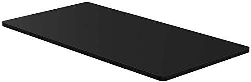 - AGIL - hochwertige Schwarze Tischplatte für ergonomische höhenverstellbare...