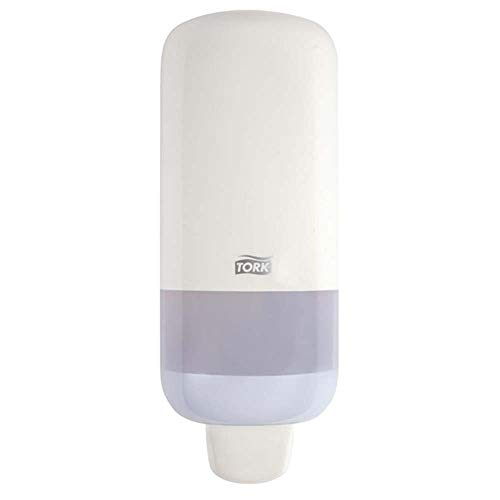 Tork Seifenspender für Schaumseife und Schaum-Händedesinfektion, Elevation - 561500 - Sparsames, auslaufsicheres S4 Spender-System, weiß