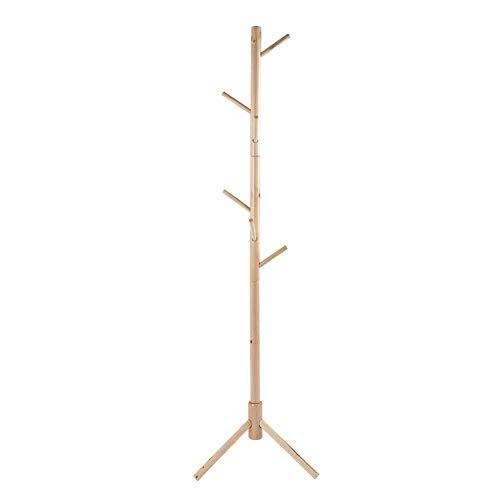 Jadpes Coat Hat Floor Stand, Boom-soort-houten mantel-hoed-frame-stof-hoed-standplaats-staande ophang-vloer-standplaats-slaapkamer