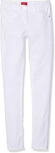 s.Oliver s.Oliver Mädchen 66.903.73.2059 Hose, Weiß (White 0100), 158 (Herstellergröße: 158/REG)
