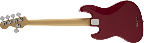 FenderエレキベースMIJHybrid60sJazzBassV,TorinoRed