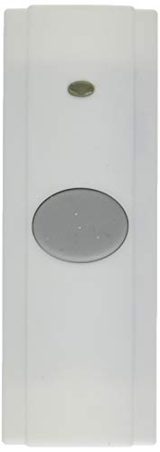 Nutone PB82WH Wireless Unlighted Push Button, White