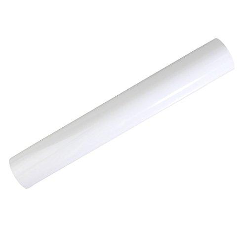 Rollo de vinilo para transferencia de calor, vinilo HTV mate para camisetas, rollo de 30,5 cm x 3 metros 30*300cm blanco