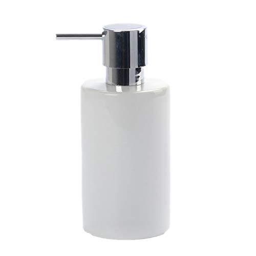 Huachaoxiang Seifenspender/Lotionspender Keramiklotion Flasche Einfacher Nordischer Stil Seifenspender Seifenspender,Weiß
