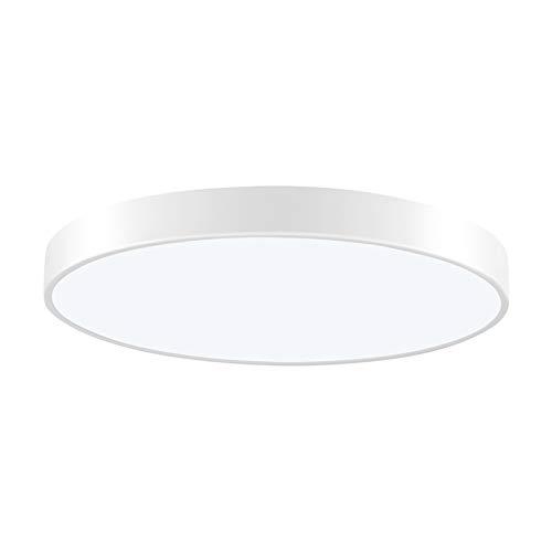 HXFYJ Lámpara de Techo de Panel LED de luz de Techo LED de 36W, iluminación de Techo Redonda LED de 2160lm para Dormitorio, Sala de Estar, Pasillo, Oficina,Stepless Dimming