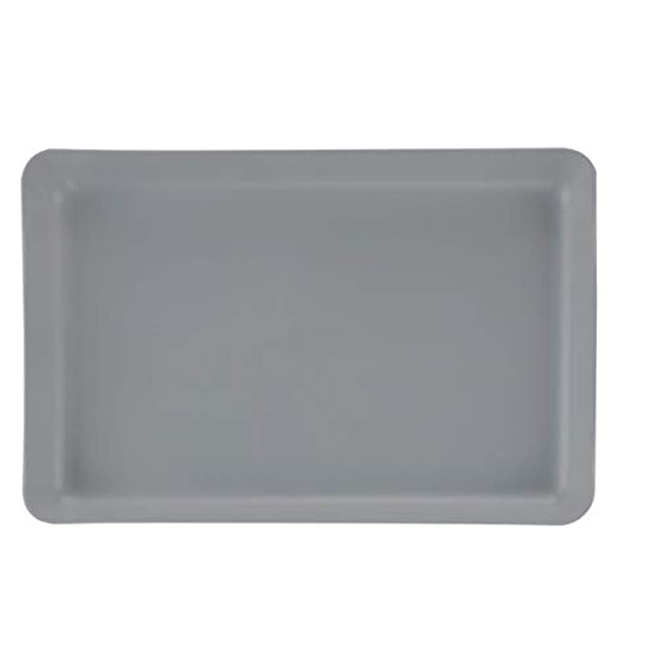 Soho Urban Artist Neutral Gray Artist Paint Palette - Large Butcher Tray Easy Clean Up Palette for Acrylics, No Stains and Paint Peels Off Once Dried - 11
