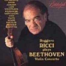 Ruggiero Ricci Plays Beethoven Violin Concerto