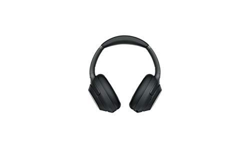 Sony WH-1000XM3 Cuffie Wireless, Over-Ear con HD Noise Cancelling, Microfono per Phone-Call, Alexa Built-in, Google Assistant e Siri, Batteria Fino a 30 ore e Ricarica Rapida, Nero