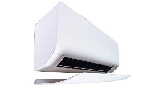 Deflettore condizionatore Climik 80X30 cm in plastica con PANNELLO ANTICONDENSA, design, deflettore climatizzatore, deflettore aria condizionata. Made in Italy
