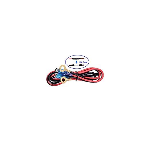 FENGFENG Sun Can Coche 12V Socket USB 24V 36W QC 3.0 2 Cargador USB Socket Touch Touch Switch Impermeable Universal Car Truck Cargador de Carga Ajuste para teléfono (Color Name : Only Cable)
