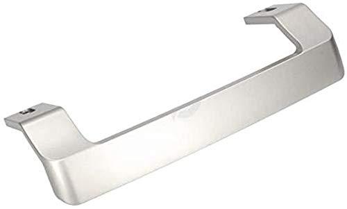 BEKO 4900061200 - Tirador de puerta para nevera y congelador (plata