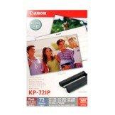3114b001Canon KP–72ip/KP–72en papel fotográfico de inyección de tinta 100X 148mm 72páginas con cinta de tinta para impresora Selphy