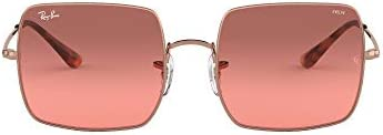 Ray Ban Square Evolve Red Photocromic Sunglasses (RB1971 9151AA)