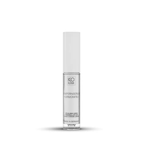 KÖ Beauté Wimpernserum, veganer hormonfreier Wimpern Booster zur Wimpernverlängerung, MADE IN GERMANY