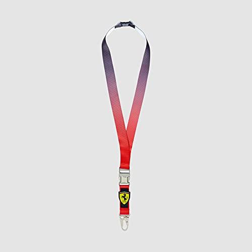 FERRARI - Colección oficial de Fórmula 1 Merchandise 2021 - Hombre y Mujer - Lanyard - Multicolor - Talla única