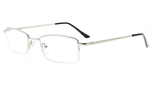 Eyekepper Gafas de lectura de medias llantas con flexión de