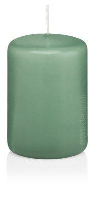 Ice-Bleu Bougie Cylindre 60 x 30 mm, 40 pcs Bougies, de Belle qualité