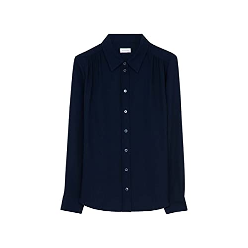 Seidensticker 131961-19 Blusas, Azul Marino, 46 para Mujer
