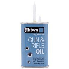 Abbey GUN & RIFLE Oil Lubricant Shotgun Airgun Air Pistol Lube 125ml Dropper