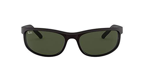 Ray-Ban RB 2027 Gafas de sol, Black/Matte Black, 62 para Hombre