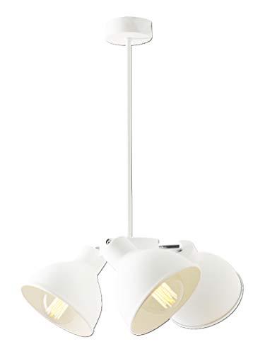 Ceiling Plafond Pendant lamp Hanging lamp Chandelier Pendant light Sconce Wall lamp Floor lamp Chandelier Zoe 3 white