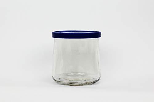 Oui Lids for Yoplait Yogurt Container 4 Pack Blue