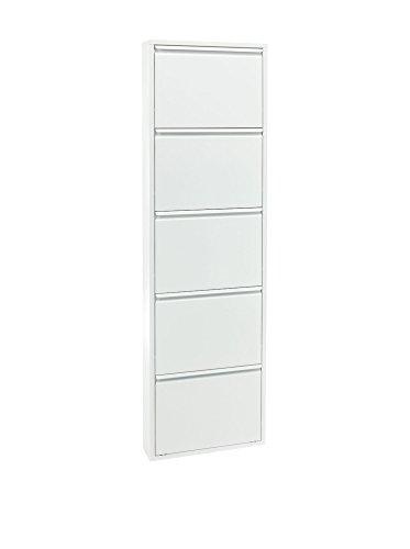 Wink design, Winston-Salem , Scarpiera 5/A, Metallo, Bianco