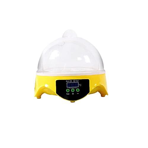 Mini incubadora inteligente multifuncional Uso familiar 7 Incubadoras pequeñas Incubadoras generales transparentes 1pc