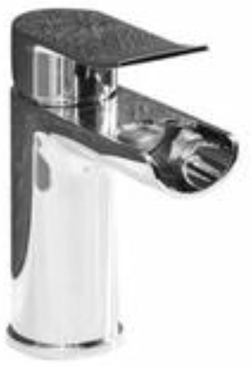 Waterfall Drench Basin Mixer Tap including Clicker Waste