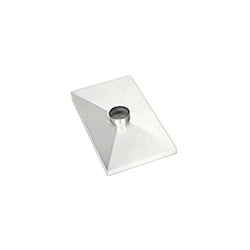Affordable Gelco 1 Hole Stainless Steel Chase Cover - 38'' x 80''