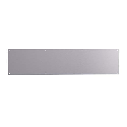 """430 Stainless Steel Sheet #4 Brushed 24 Gauge 0.024/"""" inch//0.63 mm 12/"""" x 24/"""" inch"""