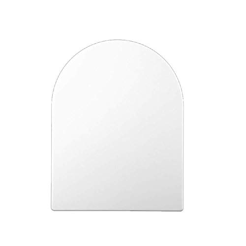 PanYFDD wc-deksel toiletbril, wit gemakkelijk schoon Quick Release U-Shaped dik wc-deksel hars met zachte sluiten Ultra weerstand, 42,7 ~ 47,3 * 36cm Badkamer, familie, wasruimte