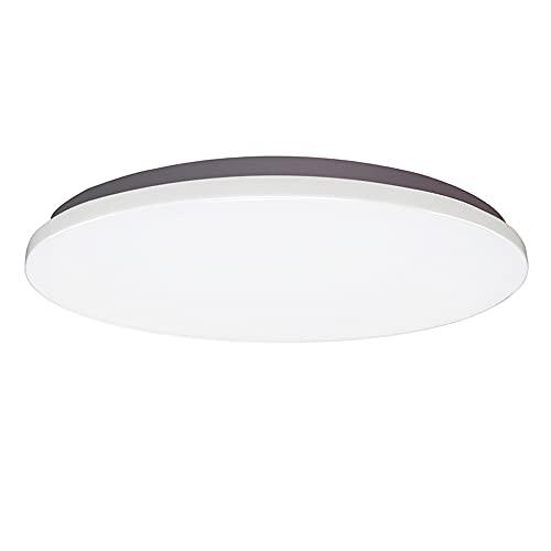 ZHANGQ Luz de techo LED redonda ultrafina 15W-36W con fuente de luz de tres colores Control de interruptor común Luz de techo moderna luz de techo pasillo cocina balcón iluminación/B / 33×4cm