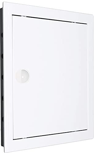 Revisionstür Revisionsklappe Revision. Hochwertig ABS-Kunststoff weiß. Größen wählbar. (20x20 - AD20/20)