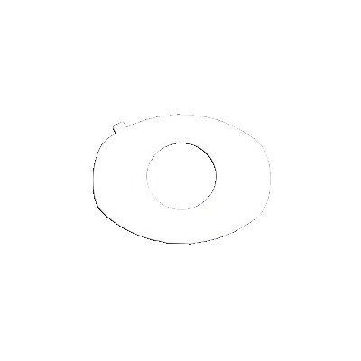 TRSN268707PK - Universal Adhesive Gasket, 7/8, 10 Per Package
