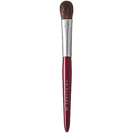 熊野筆(化粧筆) 竹宝堂 レギュラーシリーズ アイシャドーブラシ 馬 RR-S1 赤ライン メイクブラシ