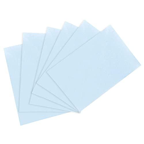 Maquillage Buvant De Papier Feuilles D'huile Absorbant Le Film Nettoyage De La Peau Huily Soin De La Peau Bleu
