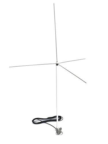 AirNav ADS-B 1090 MHz und UKW Airband Outdoor Antenne mit SMA Anschluss