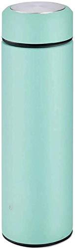 Vaso de agua con aislamiento Termo de acero inoxidable - Botella de agua aislada al vacío de acero inoxidable con tapaLabotella termodeportiva mantiene el frío