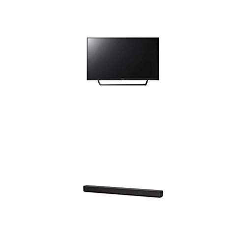 Sony KDL32RE405BAEP 80 cm (32 Zoll) Fernseher (HD Ready, Triple Tuner),Schwarz Plus HT-SF150 2-Kanal Soundbar (Verbindung über HDMI, Bluetooth und USB) Schwarz