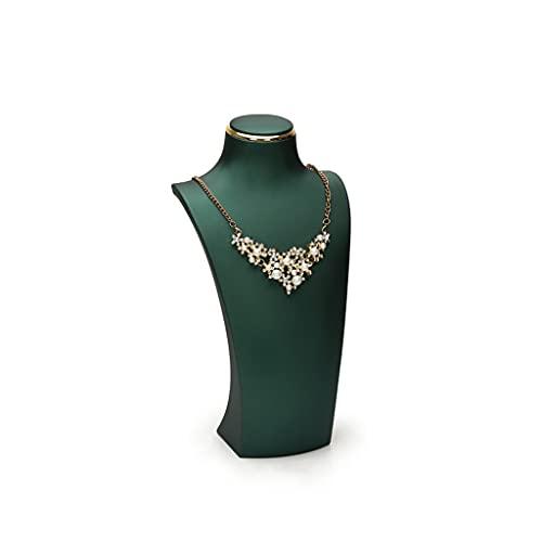 alyf Organizador de joyas Soporte de pendiente Soporte de collar Soporte de joyería Exhibición de busto Maniquí Soporte de exhibición