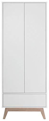 Loft24 A/S Dielenschrank Garderobenschrank Flurmöbel Push-to-Open Funktion Kompaktgarderobe MDF