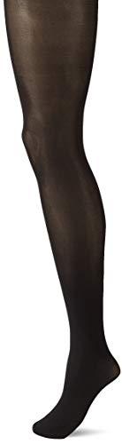 FALKE Damen Strumpfhosen Seidenglatt 40 Denier - Semi-Blickdicht, Leicht Glänzend, 1 Stück, Schwarz (Black 3009), Größe: XL
