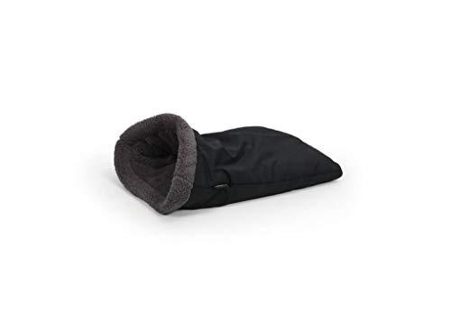 51 Degrees North Saco de Dormir Gris Negro Perros Pequeños y Medianos, Super Suave Sleeping Bag, Sheep Collection, Lavable, Grey Black, 55x 35cm