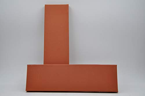 mora PLAROJL215 Plaqueta decorativa de Ladrillo color rojo 215x13x65 mm