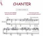 Partition : Chanter - Piano et paroles