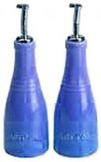 Le Creuset Stoneware Oil and Vinegar Set, Blue