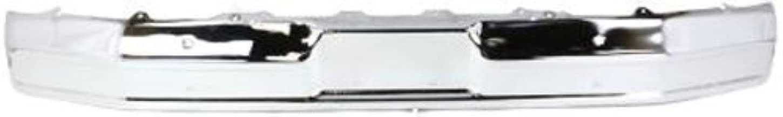 Crash Parts Plus Chrome Steel Front Bumper for Ford Bronco, F-100, F-150, F-250, F-350 FO1002167
